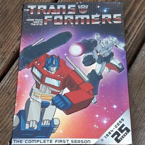 Transformers The Complete First Season DVD MOVIE